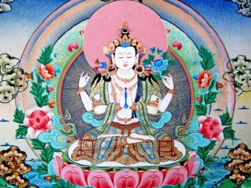Avalokiteshvara Chaturbhuja (18)