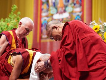 dailai lama and lama zopa