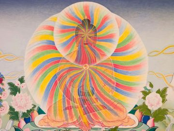 Buddha rainbow body