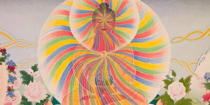 Buddha rainbow body
