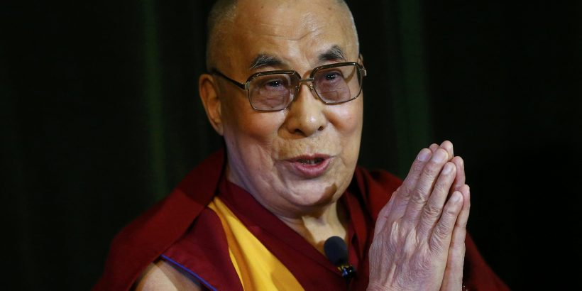 Tibetan spiritual leader, the Dalai Lama speaks during a news conference at Magdalene College in Oxford, Britain September 14, 2015.  REUTERS/Darren Staples